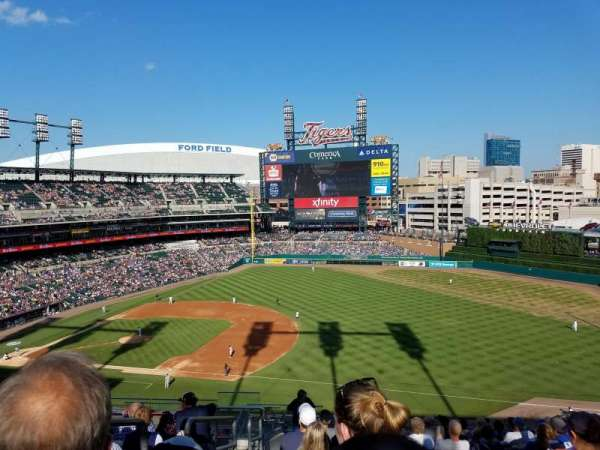 Comerica Park, section: 117, row: 15, seat: 23