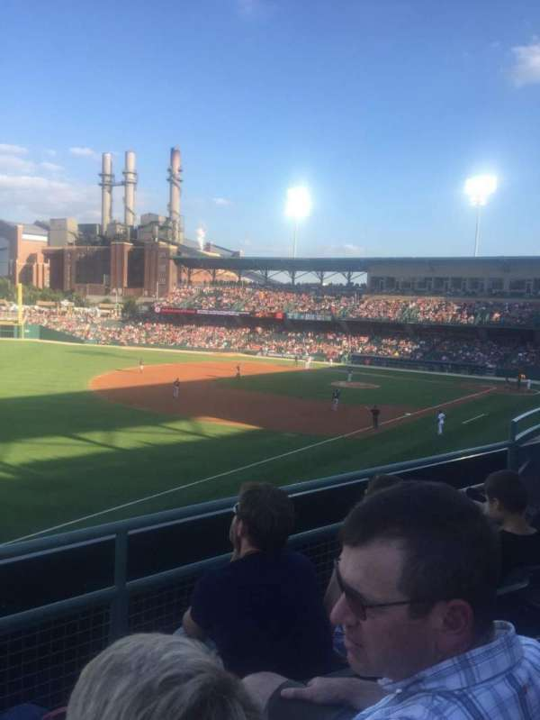 Victory Field, section: 201, row: C, seat: 10