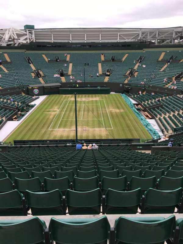 Wimbledon, Court No. 1, section: 21, row: Y, seat: 273