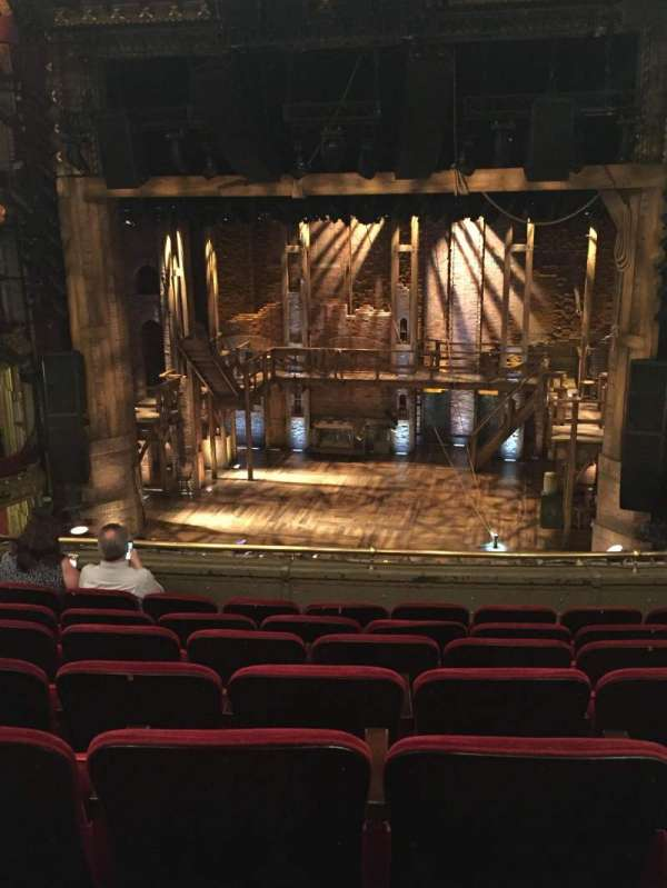 CIBC Theatre, section: Mezzanine RC, row: G, seat: 314