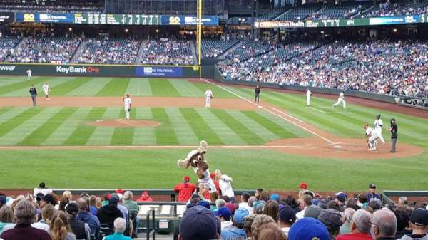 Safeco Field, section: 136, row: 26, seat: 5