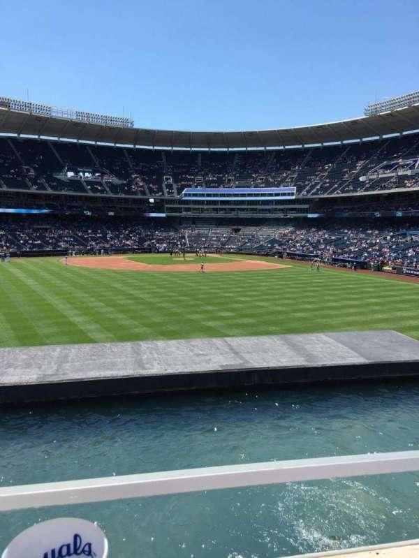 Kauffman Stadium, section: 201, row: A, seat: 31