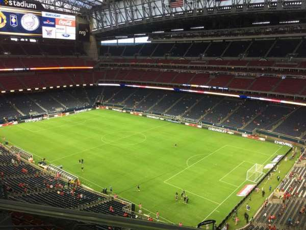 NRG Stadium, section: 603, row: A, seat: 4