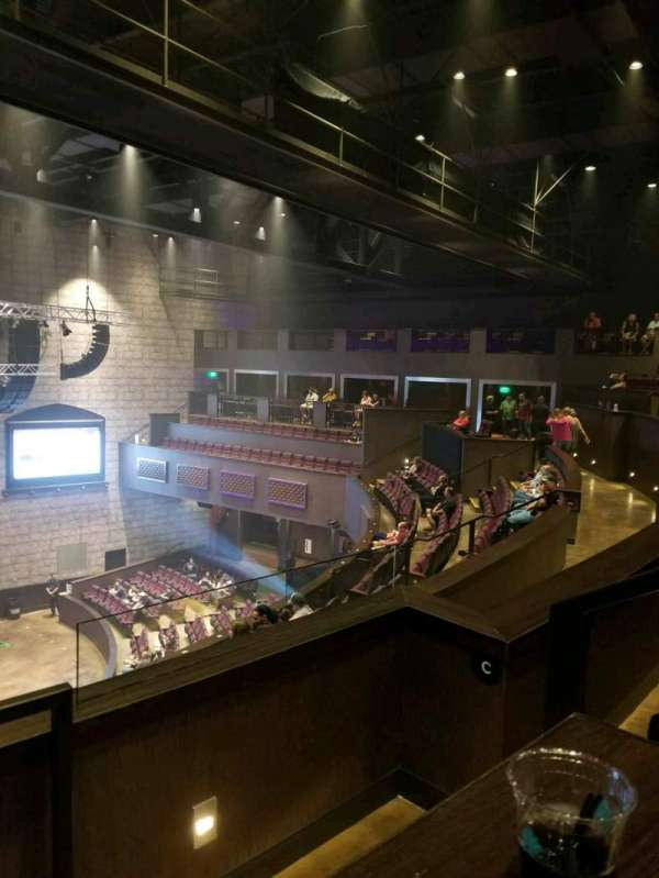 The Vine At Del Lago, section: Balcony B, row: hh, seat: 13