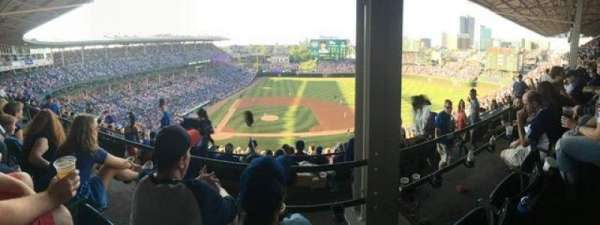 Wrigley Field, section: 423R, row: 2, seat: 11