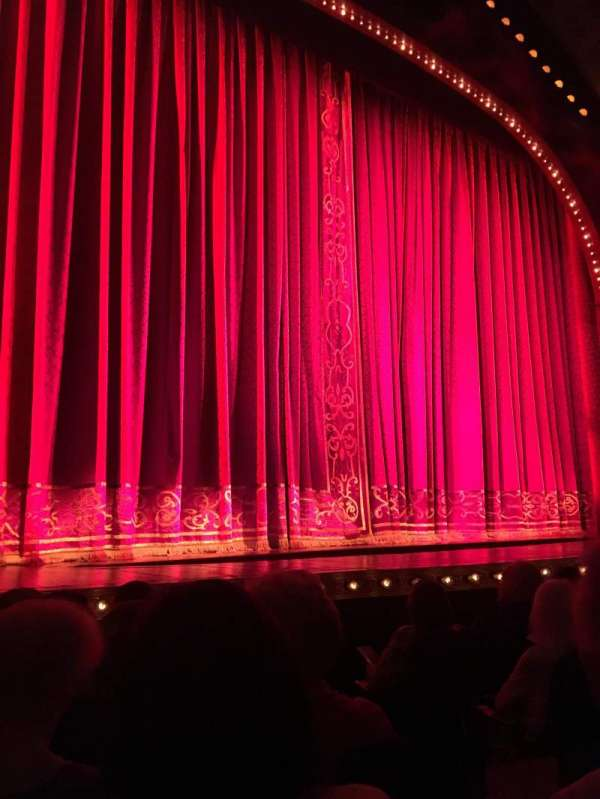 Shubert Theatre, section: Orchestra L, row: F, seat: 5