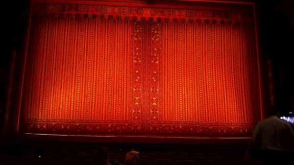 New Amsterdam Theatre, section: orchestra c, row: k, seat: 109