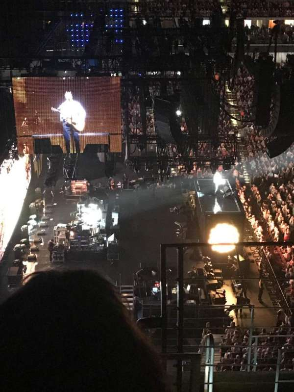 Wells Fargo Arena, section: 323, row: H, seat: 1