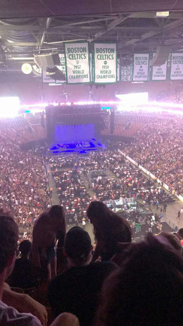 TD Garden, section: Bal 310, row: 15, seat: 13