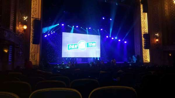 Paramount Theatre (Seattle), section: MF4, row: S, seat: 3