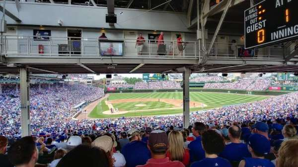 Wrigley Field, section: 221, row: 20, seat: 9
