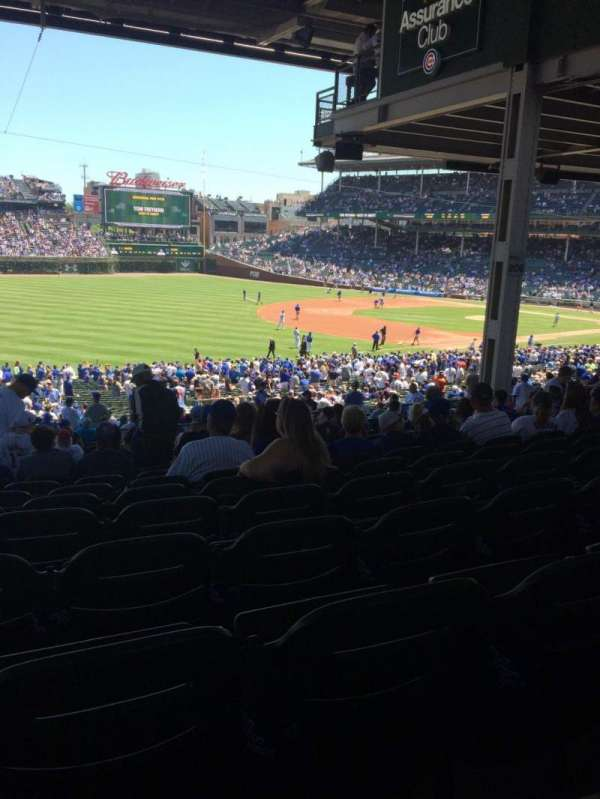 Wrigley Field, section: 206, row: 17, seat: 3