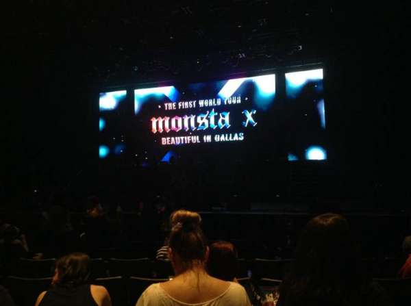 Verizon Theater, section: 102, row: K, seat: 9