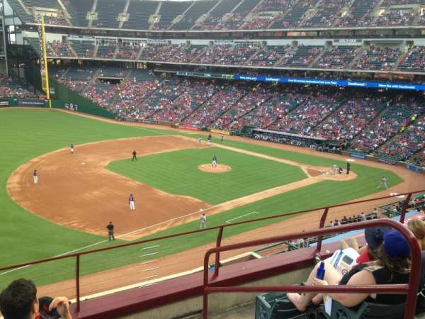 Globe Life Park in Arlington, section: 215, row: 5, seat: 16