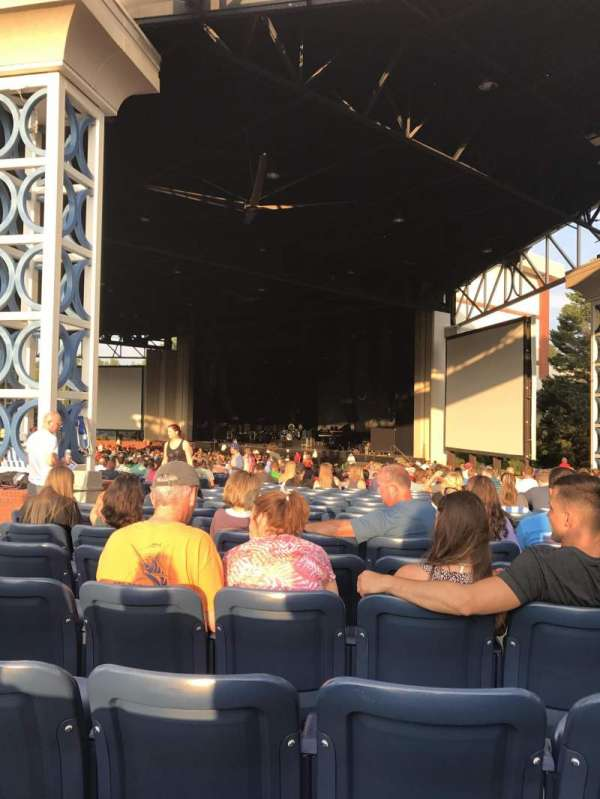 Coastal Credit Union Music Park at Walnut Creek, section: 4, row: DD, seat: 28