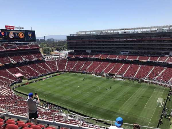 Levi's Stadium, section: 407, row: 6, seat: 7