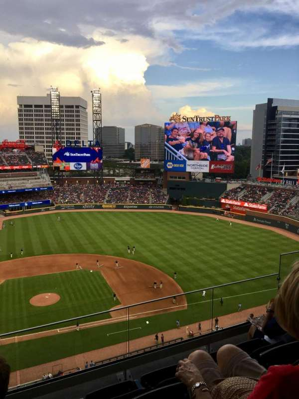 suntrust park, section: 420, row: 5, seat: 6