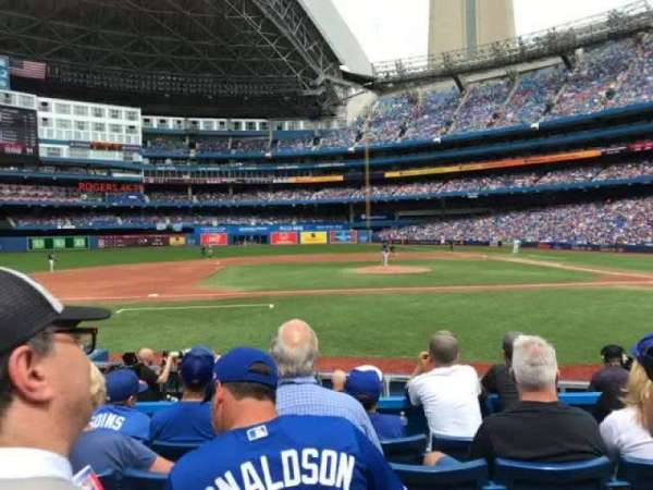 Rogers Centre, section: 126l, row: 12, seat: 106