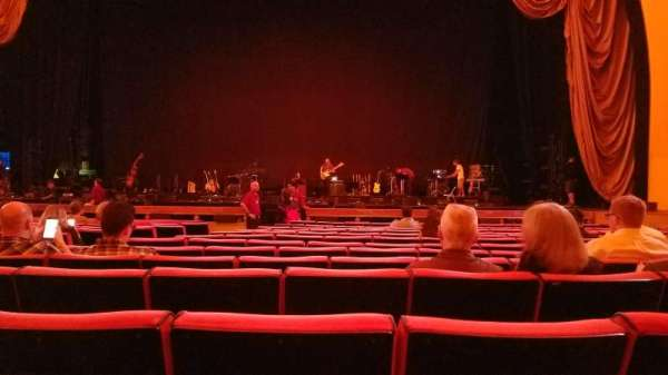 Radio City Music Hall, section: orchestra 3, row: NN, seat: 310