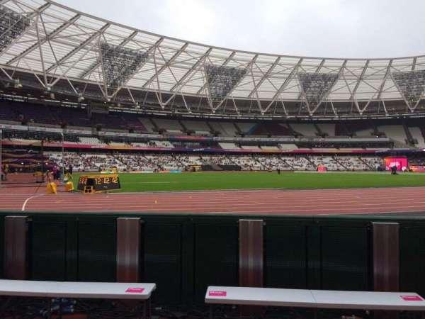 London Stadium, section: 131, row: 2