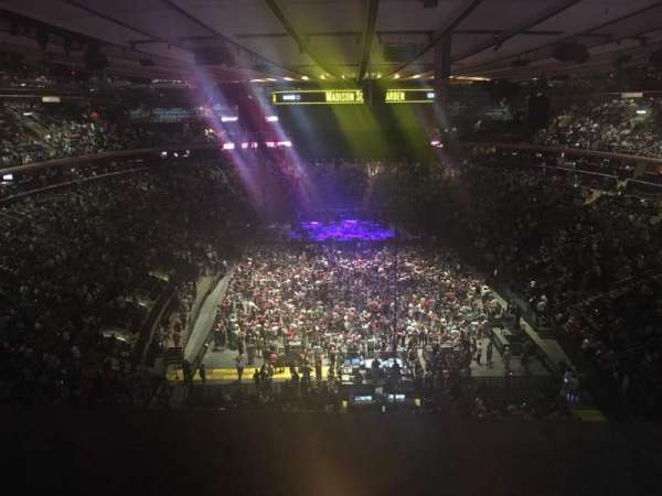 Madison Square Garden Section 304 Home Of New York