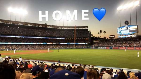 Dodger Stadium, section: 44FD, row: N , seat: 19