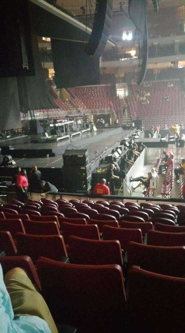 Wells Fargo Center, section: 123, row: 12, seat: 14