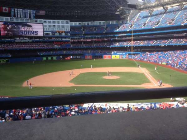 Rogers Centre, section: 228, row: R