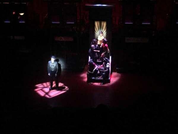 Longacre Theatre, section: Balcony C, row: F, seat: 104