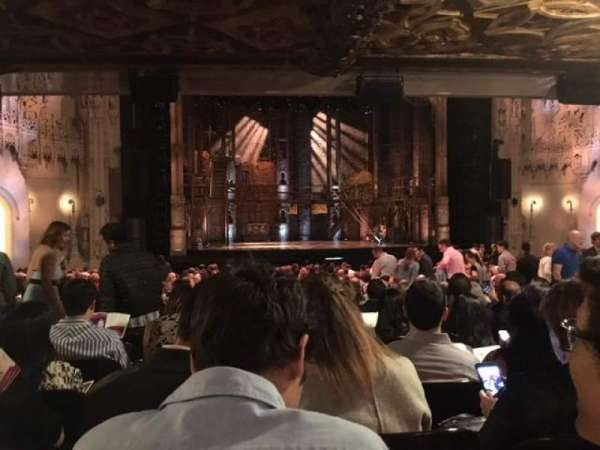 Orpheum Theatre (San Francisco), section: Orchestra Center, row: AA, seat: 113