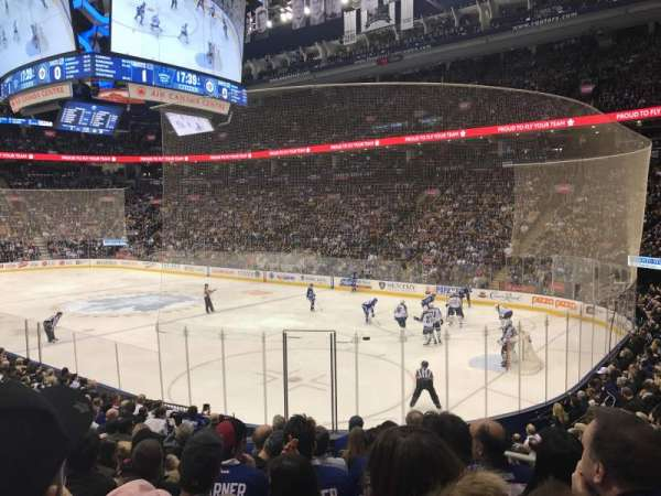Scotiabank Arena, section: 116A, row: 17, seat: 3
