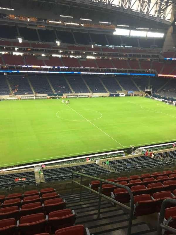 NRG Stadium, section: 340, row: P, seat: 4