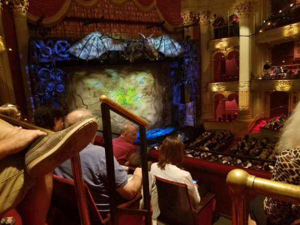 Academy of Music, section: Balcony G, row: A, seat: 27