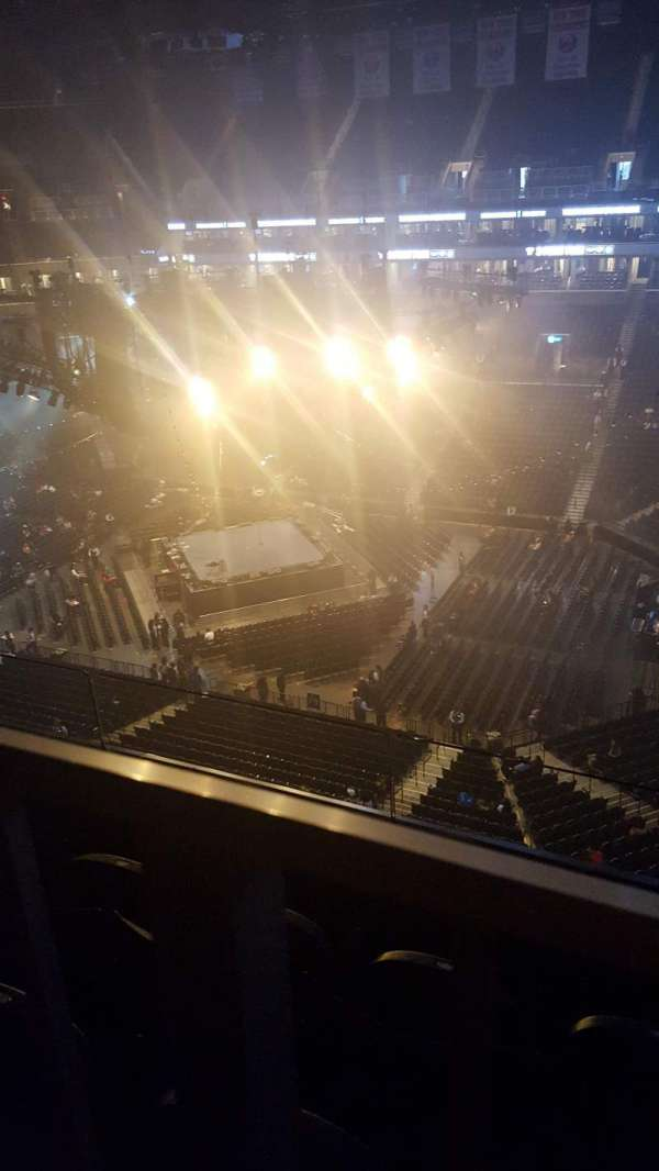 Barclays Center, section: 222, row: 3, seat: 3