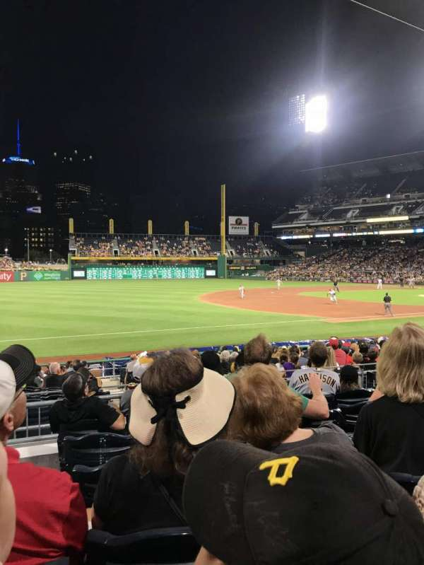 PNC Park, section: 127, row: F, seat: 23