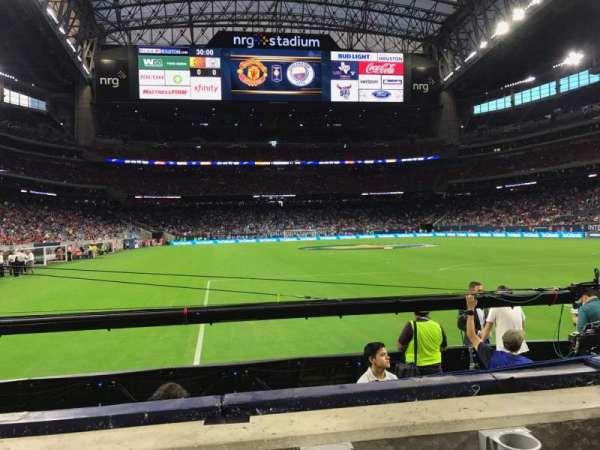 NRG Stadium, section: 138, row: B, seat: 15