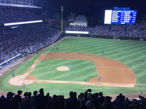 Wrigley Field, section: 424R, row: 4, seat: 1