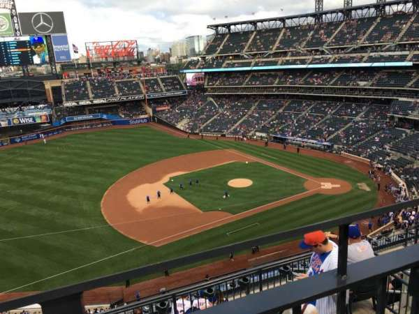 Citi Field, section: 523, row: 1, seat: 12