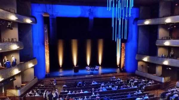 Winspear Opera House, section: Mezzanine, row: A, seat: 18