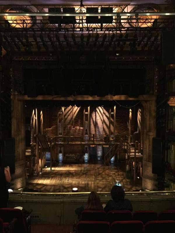 CIBC Theatre, section: Mezzanine RC, row: F, seat: 302
