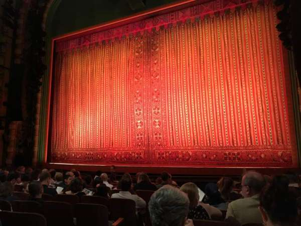 New Amsterdam Theatre, section: Orchestra R, row: K, seat: 4