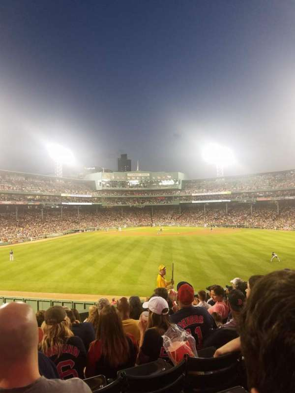 Fenway Park, section: Bleacher 37, row: 10, seat: 20