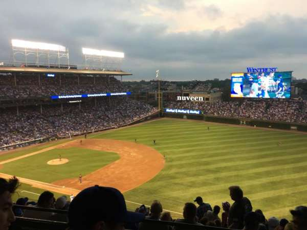 Wrigley Field, section: 428R, row: 2, seat: 15