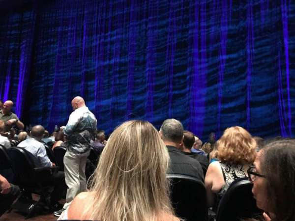 Park Theater at Park MGM, section: 101, row: J, seat: 22