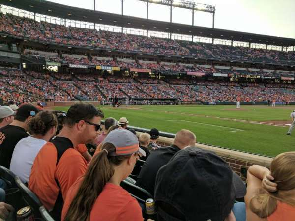 Oriole Park at Camden Yards, section: 18, row: 5, seat: 1