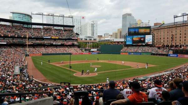 Oriole Park at Camden Yards, section: 33, row: 6, seat: 16