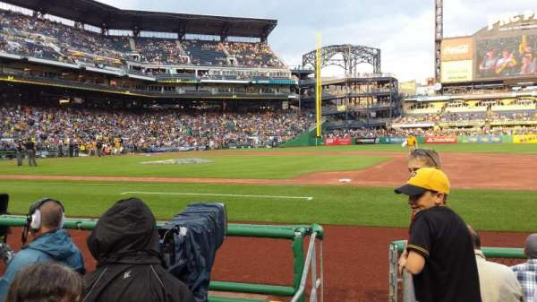 PNC Park, section: 9, row: F, seat: 9
