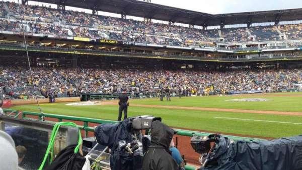 PNC Park, section: 9, row: F, seat: 10