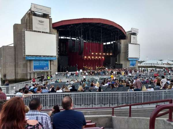 Jones Beach Theater, section: 13R, row: G, seat: 4
