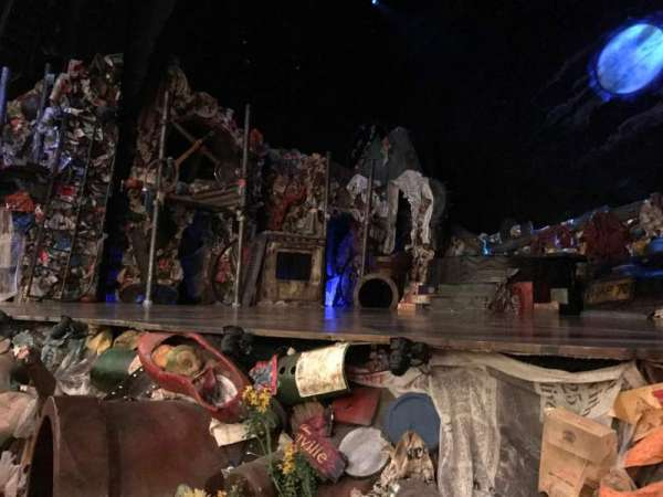 Neil Simon Theatre, section: Orchestra R, row: B, seat: 8